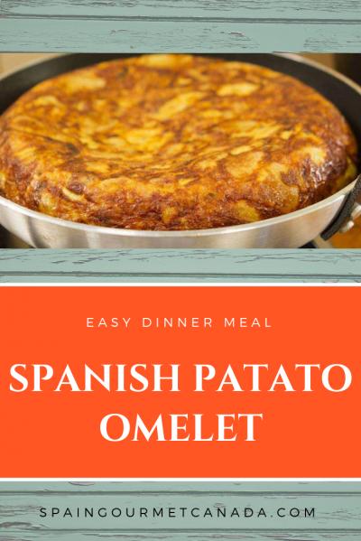 Spanish Patato Omelet